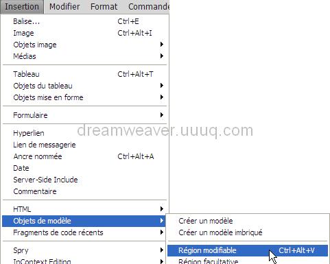 Dreamweaver cr er des mod les dreamweaver for Ouvrir fenetre popup